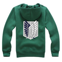 Green Attack on Titan Survey Corps Hoodie