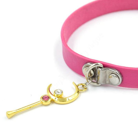 Sailor Moon Key Pendant Choker