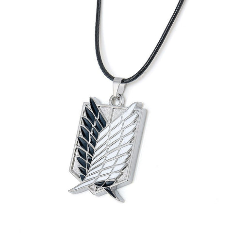 Attack on Titan Survey Corps Metal Necklace - Otakupicks