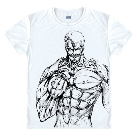 Attack on Titan The Titan Outline T-Shirt - Otakupicks