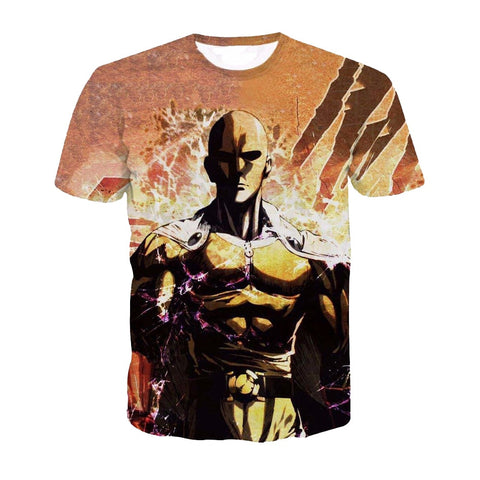 One Punch Man Full Print Saitama T-Shirt
