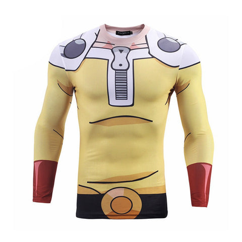 One Punch Man costume shirt front view
