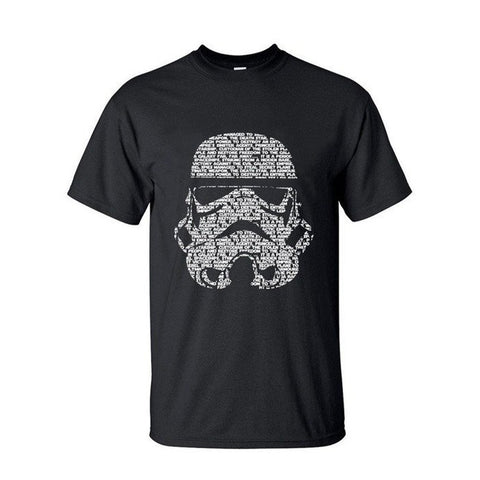 Star Wars Storm Trooper Words T-Shirt