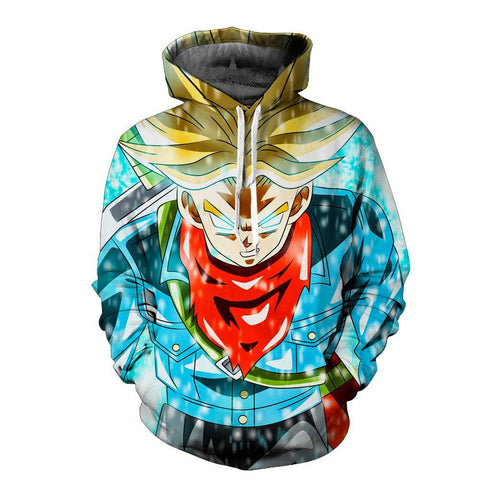 Dragon Ball Z Future Trunks Hoodie - Otakupicks