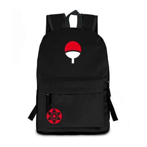 Naruto Uchiha Nylon Backpack