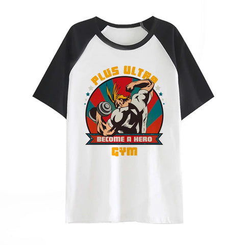 Boku No Hero Academia Ultra Gym Shirt - Otakupicks