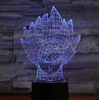 Dragon Ball Z Goku Matrix 3D Lamp - Otakupicks