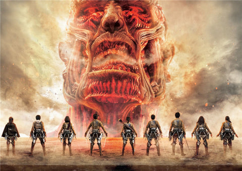 Attack on Titan Face of Evil Poster