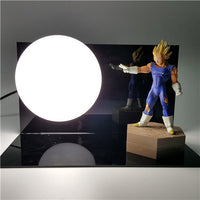 Dragon Ball Z Vegeta's Ki Orb Lamp - Otakupicks