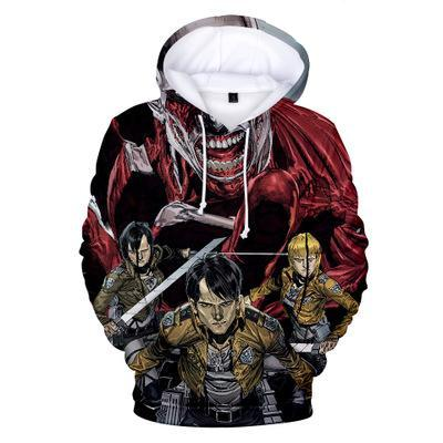 Attack on Titan New World Hoodie - Otakupicks
