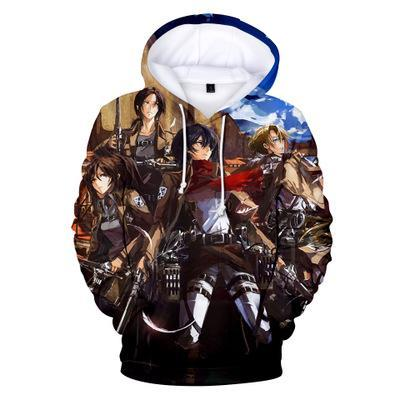 Attack on Titan Squad Hoodie
