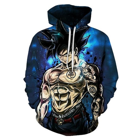 Dragon Ball Z Gangsta Goku Hoodie - Otakupicks