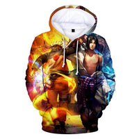 Naruto Friends and Foes Hoodie - Otakupicks