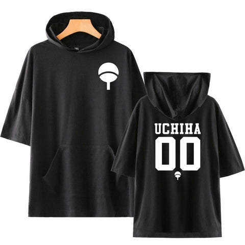 Naruto Uchiha Team Hooded T-Shirt - Otakupicks