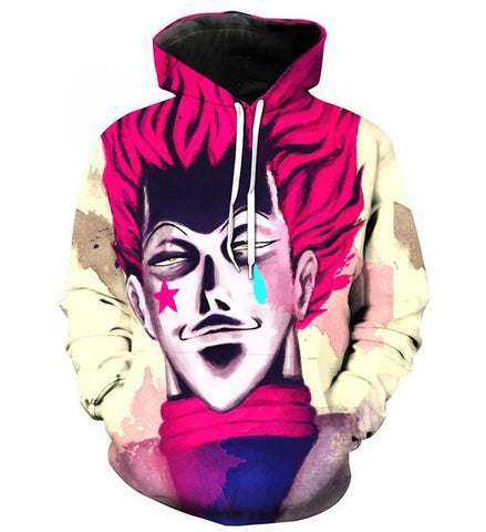 Hunter x Hunter Hisoka Morow Hoodie - Otakupicks