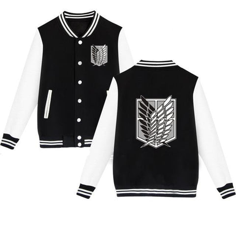 Attack on Titan Survey Corps Letterman