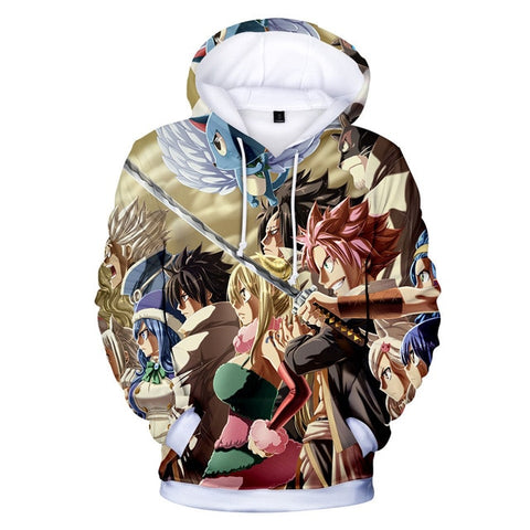 Fairy Tail Guild Raid Hoodie - Otakupicks