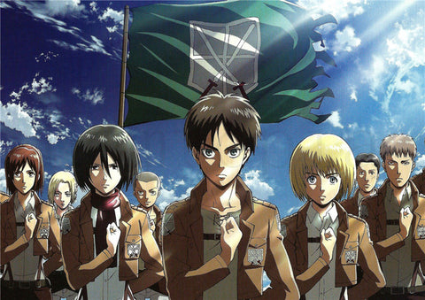 Attack on Titan Last Hope Poster