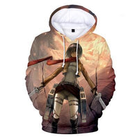 Attack on Titan Mikasa Ackerman Hoodie - Otakupicks