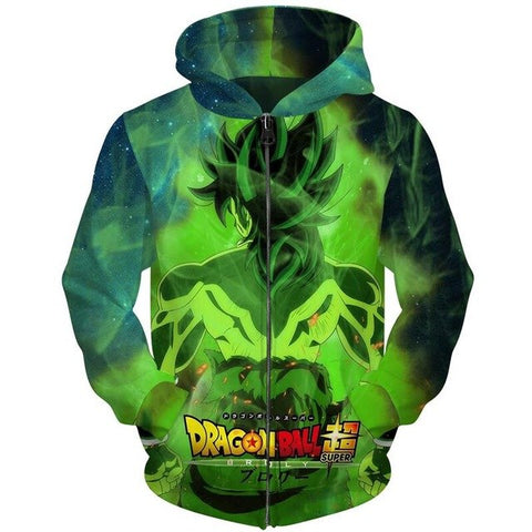 Dragon Ball Super Broly Hoodie - Otakupicks