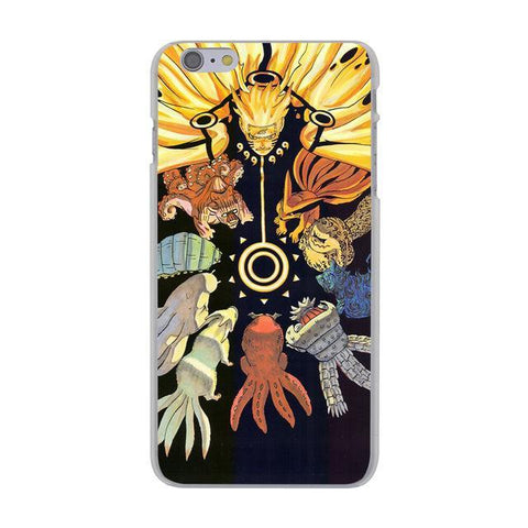 Naruto Elements iPhone Case