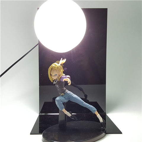 Dragon Ball Z Android 18 Lamp