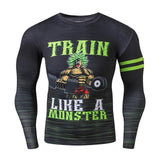Dragon Ball Z Monster Compression Shirt - Otakupicks