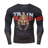 Dragon Ball Z Train Hard Compression Shirt