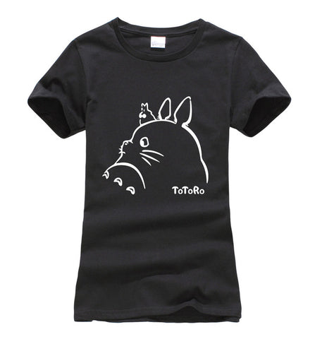 My Neighbor Totoro Black T-Shirt