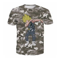Dragon Ball Z Vegeta Dab Army T-Shirt - Otakupicks