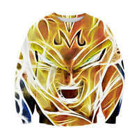 Dragon Ball Z Majin Vegeta Sweatshirt - Otakupicks