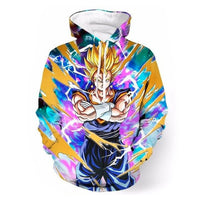 Dragon Ball Z Super Saiyan Vegito Hoodie - Otakupicks