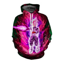 Dragon Ball Super Saiyan God in Space Hoodie