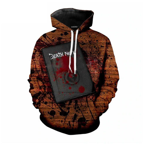 Death Note Notebook Hoodie - Otakupicks