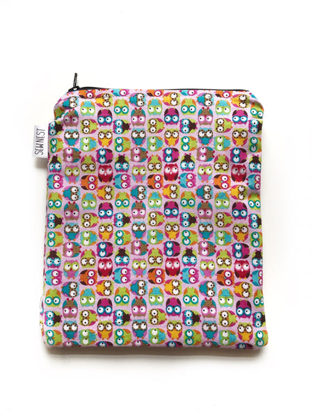 Owls Reusable Snack Bag