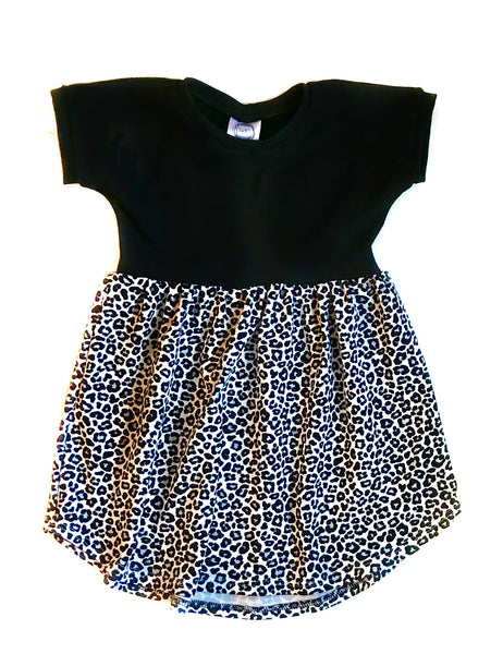 MINI LEOPARD PRINT DRESS