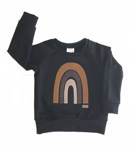 Black Rainbow Sweater