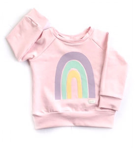 Pink Rainbow Sweater