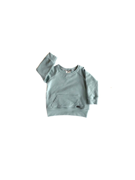Organic Pocket Crewnecks