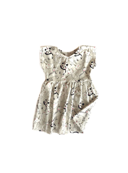 Animal Party Dress