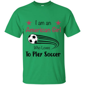 American Girl T-shirt - Irish Green / YXS - T-Shirts