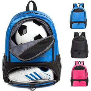 Backpack for Soccer Ball & Cleats - Blue - Equipment Bags