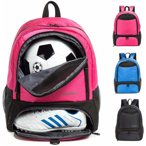 Backpack for Soccer Ball & Cleats - Pink - Equipment Bags
