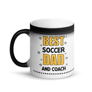 Best Dad And Coach Color Changing Mug - Drinkware