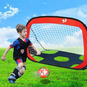 6 - 11 Years Old Pop Up Soccer Goal for Target Practice