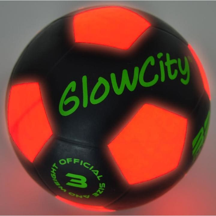 LED Glow in the Dark Soccer Ball