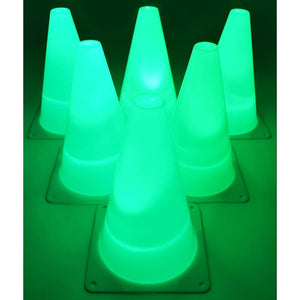 Light Up Agility Cones for Soccer Training