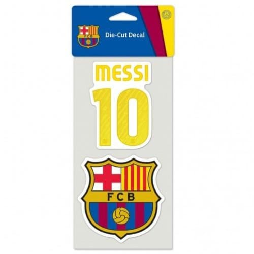Messi Barcelona Decal