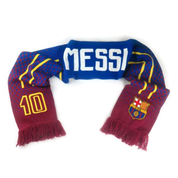Messi Barcelona Scarf
