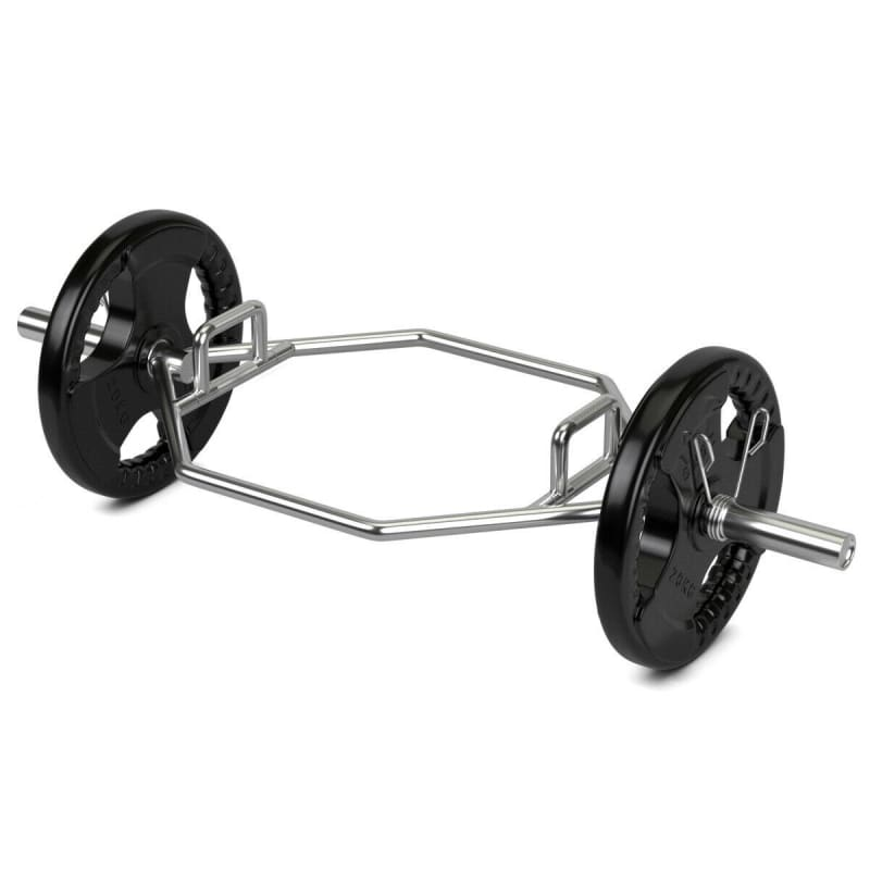 Olympic Hexagon Deadlift Trap Bar with Folding Grips Powerlifting